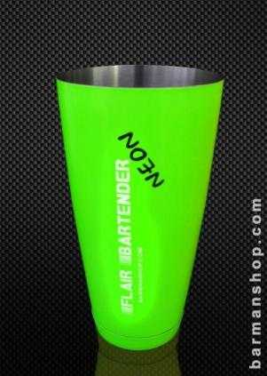 Neon 28oz Weighted Cocktail Shaker Tin
