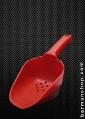 Plastic Ice scoop with holes