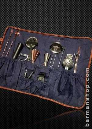 Bar tool roll - Suitable 12 pieces