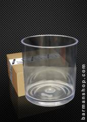 Vaso old fashion - whisky plastico 300cc (caja 24u)